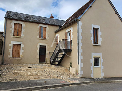 EN VENTE ST GEMME EN SANCERROIS  Maison  avec 2 appartements possible investisseur